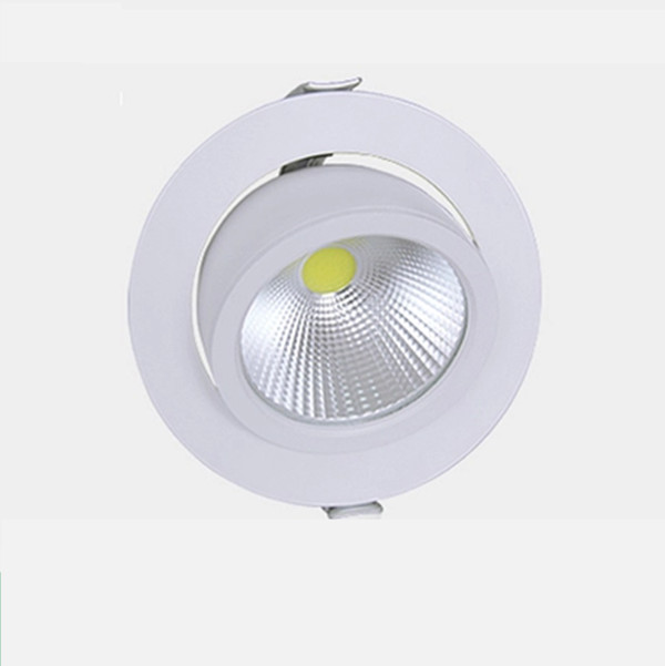 Free shipping 10pcs  30W LED Spotlight of trunk COB lamp,AC85~265V,White Body