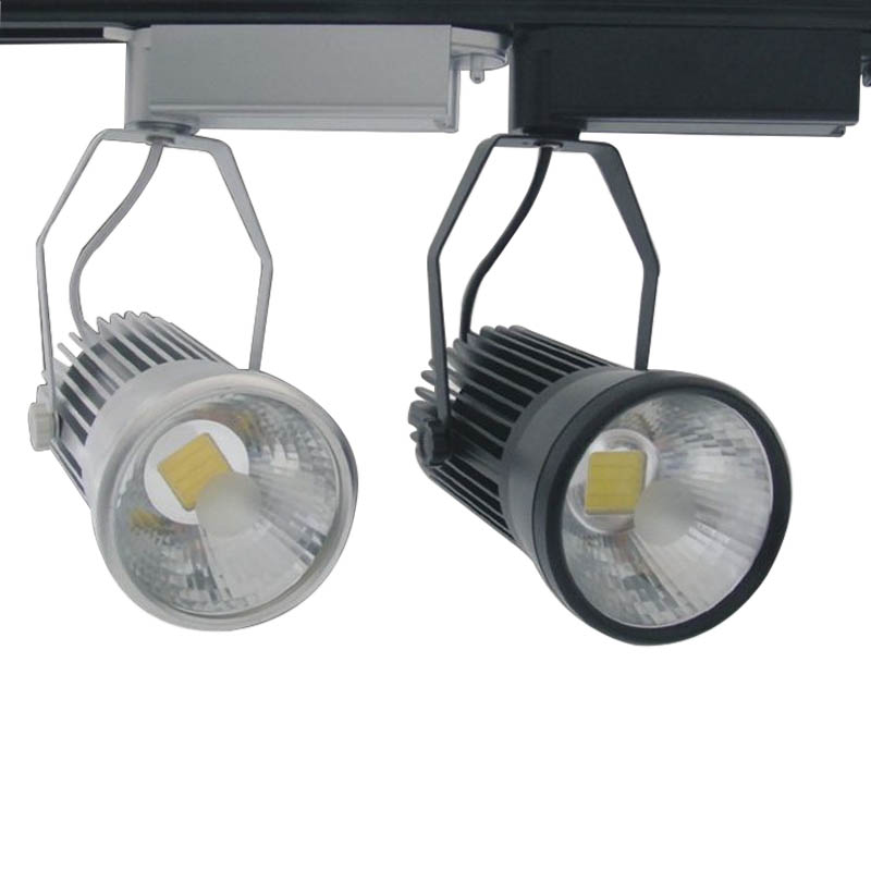 10X Wholesale 20W integrated LED track light express free shipping
