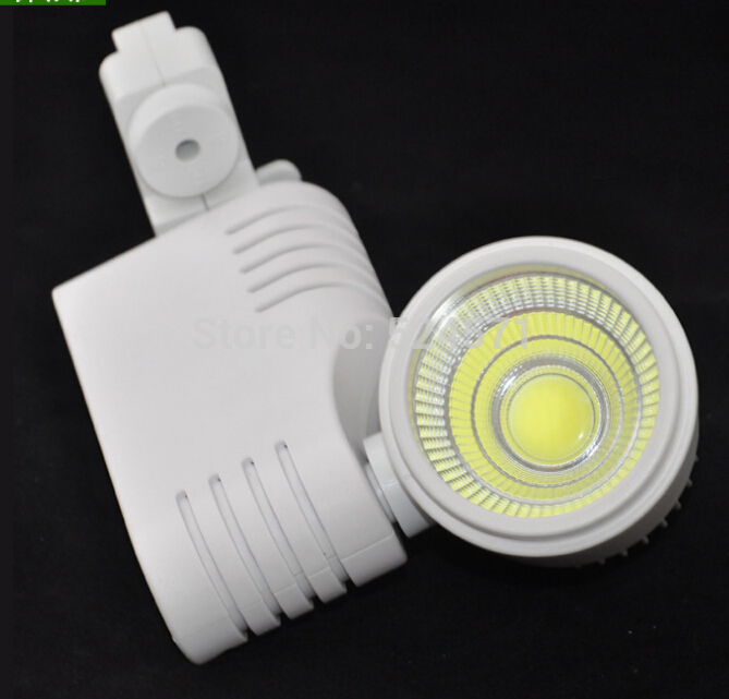 Free shipping COB 30W LED Track light Super 30W LED Spotlight Lamp ,Warm White.Cool White,100LM/W, 85-265v