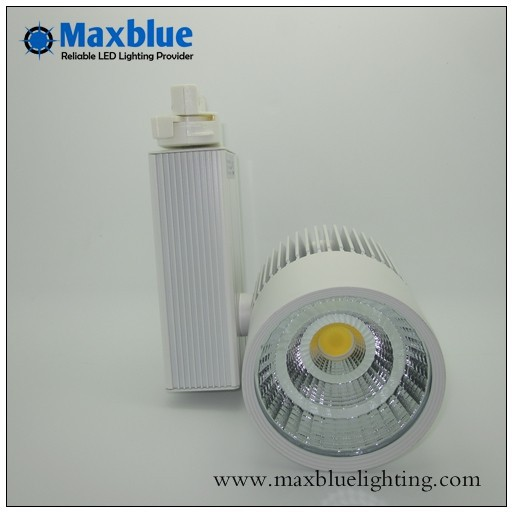 Free shipping 18W Epistar COB LED Track light ideal for store/shop lighting