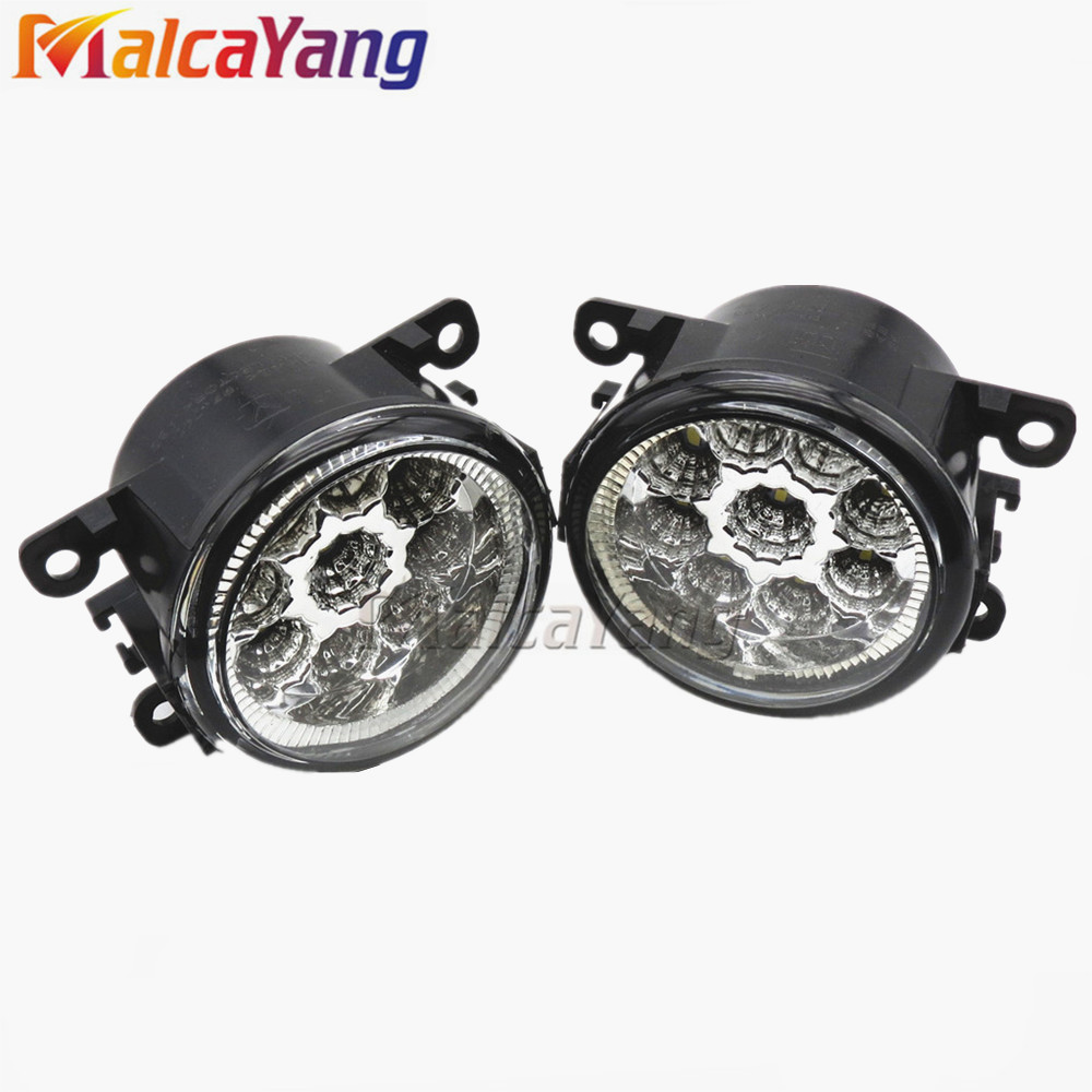Fast Delivery! Fog Lights For Polo car-styling For SUZUKI JIMNY FJ 2005-2015 For LANDROVER FREELANDER 2 LR2 2006-2014