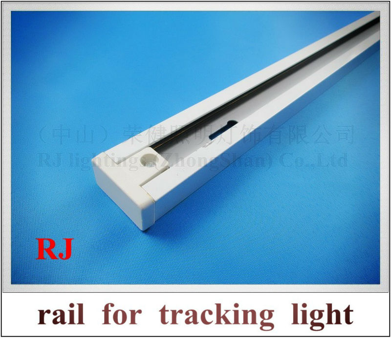 rail track bar for LED tracking light track light rail light lamp 1000mm(L)*33mm(W)*20mm(H) 2 pole(line/pin)