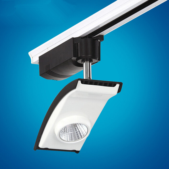 Wholesale price 20W Super cob led track lamp COB led track light COB LED rail light High Bright AC85-265V
