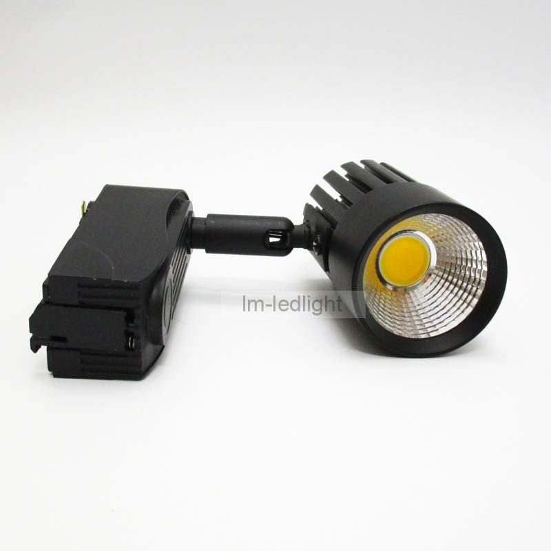 COB 7w led track light black (2)