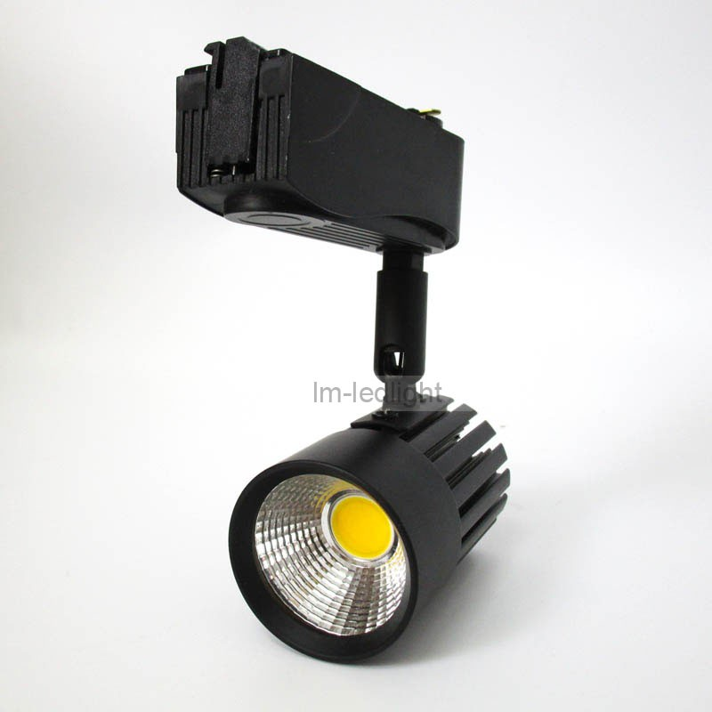 COB 7w led track light black (5)