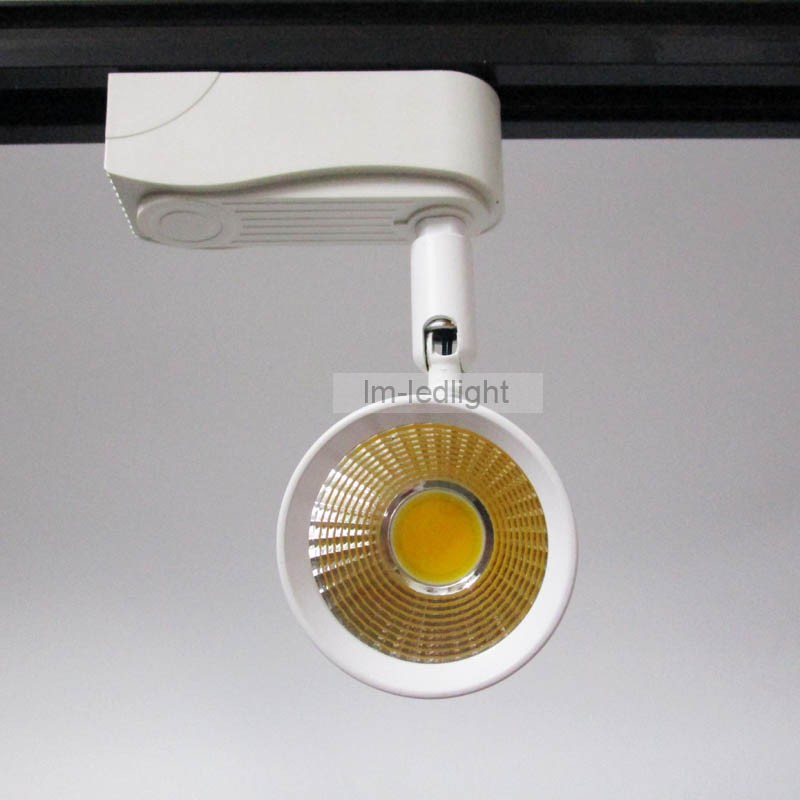 COB 7W LED track lighting white (12)