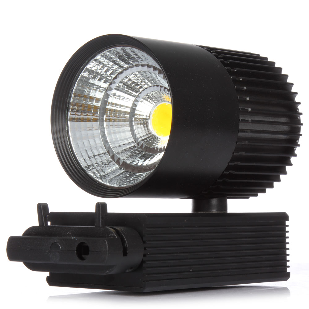 New year Wholesale 30W Single Head COB LED Track Spot Light Exclusive Shop, Jewelry Store, Showcase, Supermarket, Club, Museum