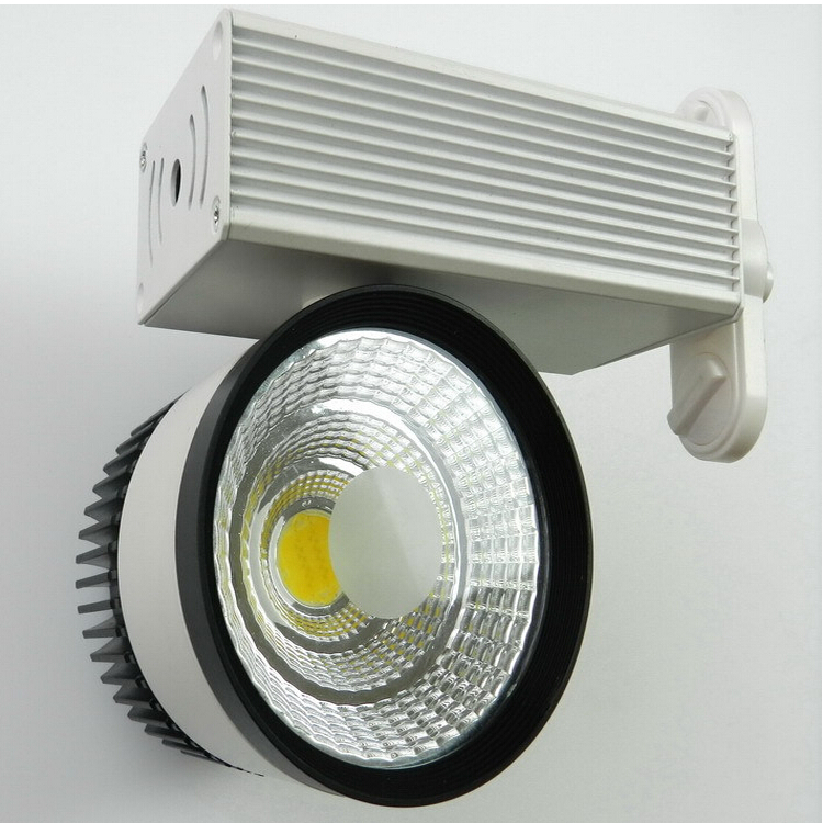 Factory Wholesale price 30W COB LED Track Light  Epistar COB chip LED spot light 85-265 Volt LED Wall Track Lighting 30W