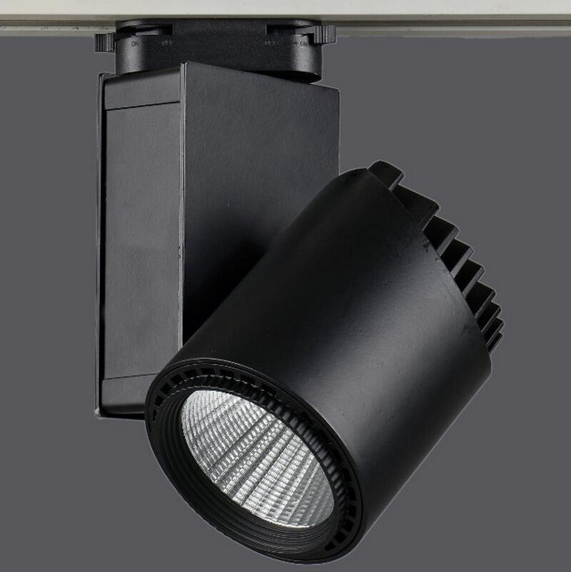 LED Rail Lighting 35W COB Track Black Shell For Ceiling LED Spotlight LED Projection Lamp Wall Light