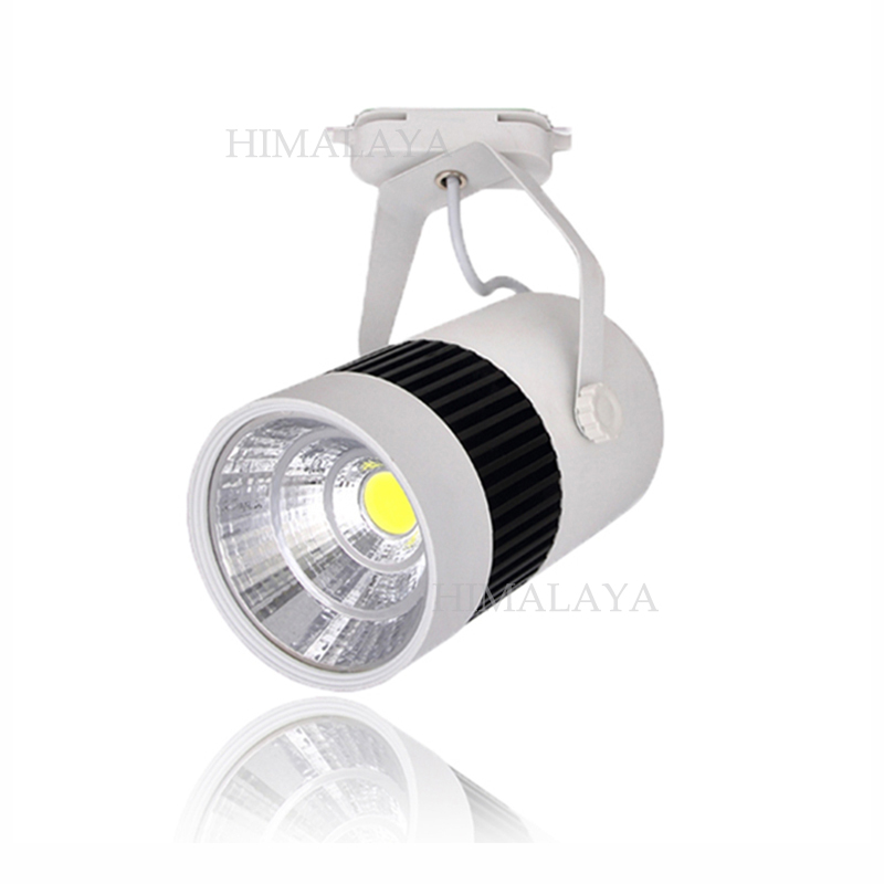 Toika  20w integration 2wire  cob  track light for store/shopping mall lighting  optional White/black Spot light