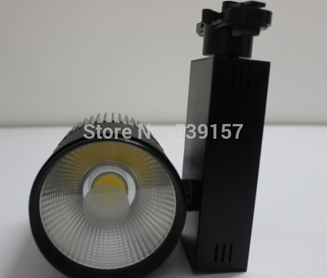 Free Shipping LED track light 30W COB spotlight spotlights clothing store window lights Halide Track Lighting