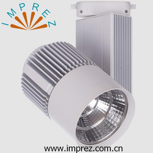 LED Track light Dimmable 30w led spot for exhibition hall show room lighting comply with traditional dimmer
