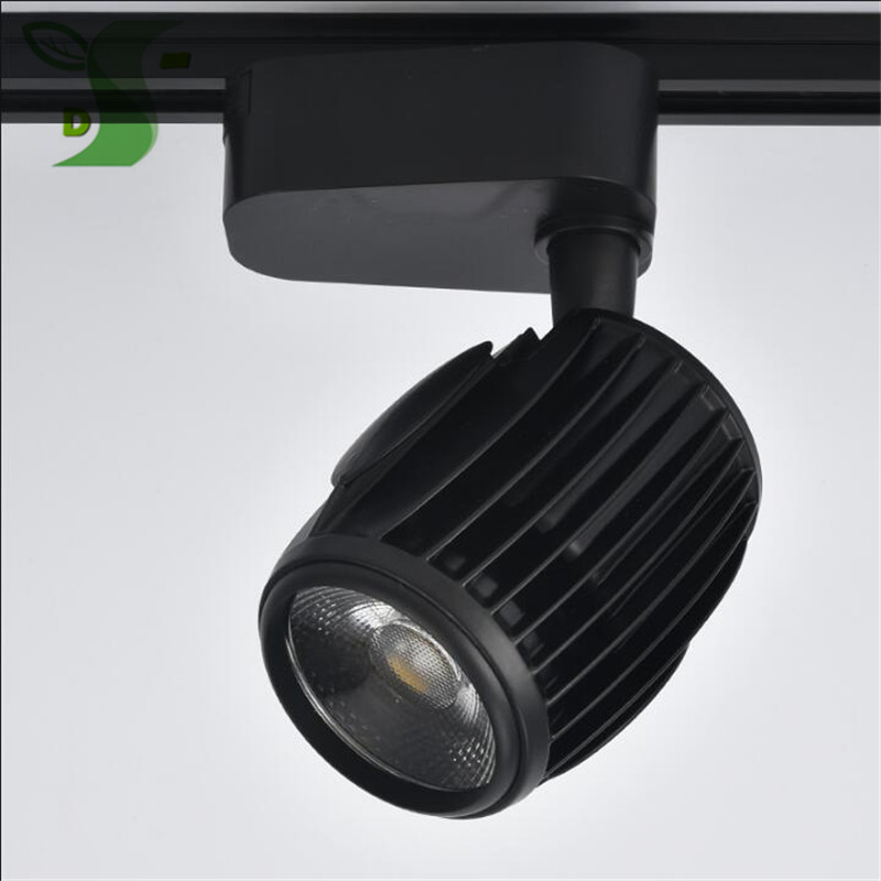2017 New ! 20pcs LED Spotlight COB Track Light Garment Shop Backdrop Gallery ceiling type Guide Light 20W 30W 40W AC 85-265V