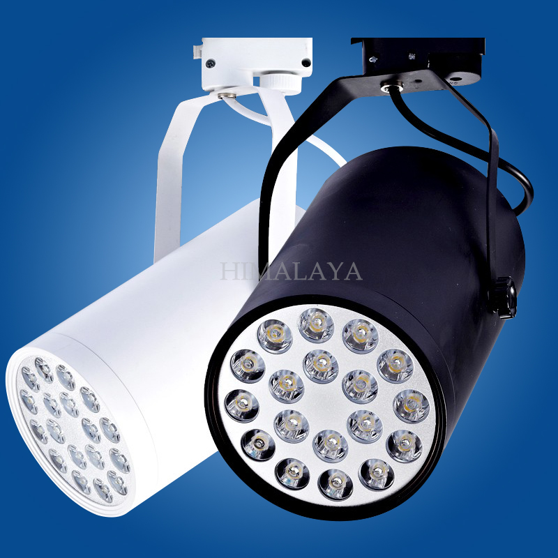 Toika 10pc/lot 15w LED track light for store/shopping mall lighting lamp Color optional White/black Spot light