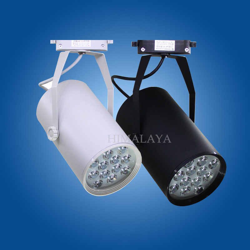 Toika 9w LED track light for store/shopping mall lighting lamp Color optional White/black Spot light