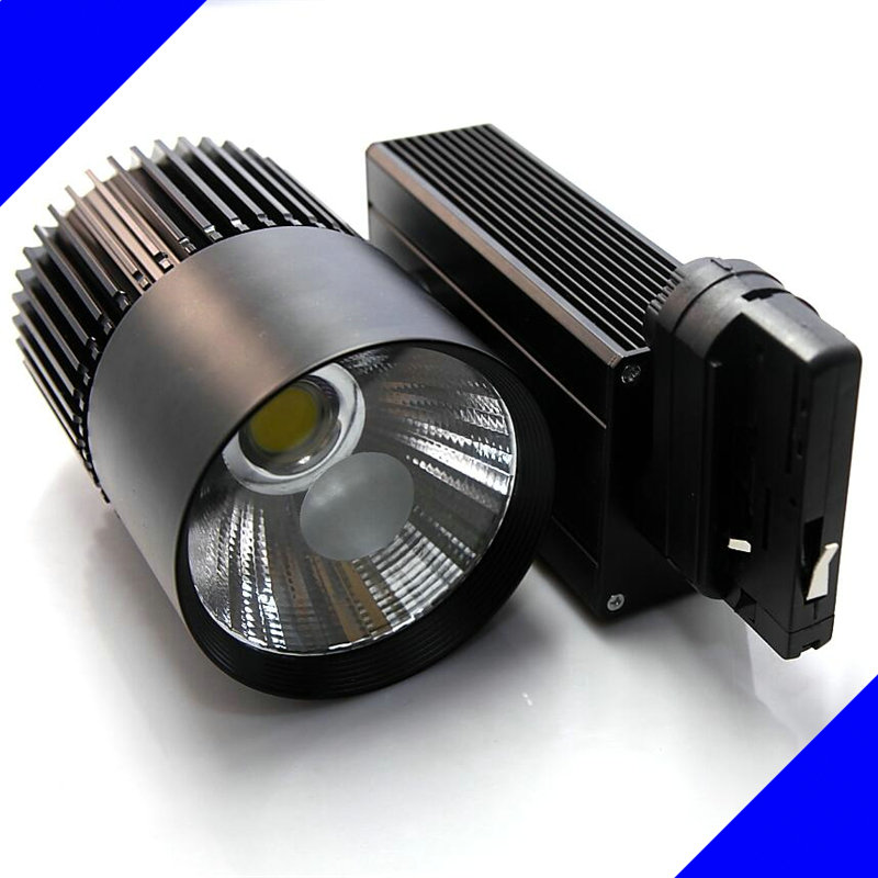 Black/White Shell 4line 35W LED Track Lights  Warm/Cool White LED Ceiling Spot Lights AC85V-265V + CE ROHS CSA