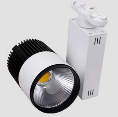 Free shipping 30W COB Led Track Rail Light 30W Led Spot Wall Lamp Tracking lamp AC85-265V CE RoHS