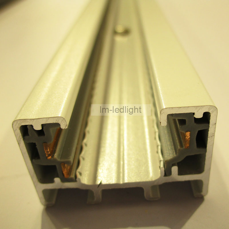 Track System 3 Wire 1m Led Light Rail And 17pcs