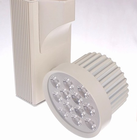 9w led  Track light guide rail clothes ming mounted spotlights high power led spotlights AC 85-265V