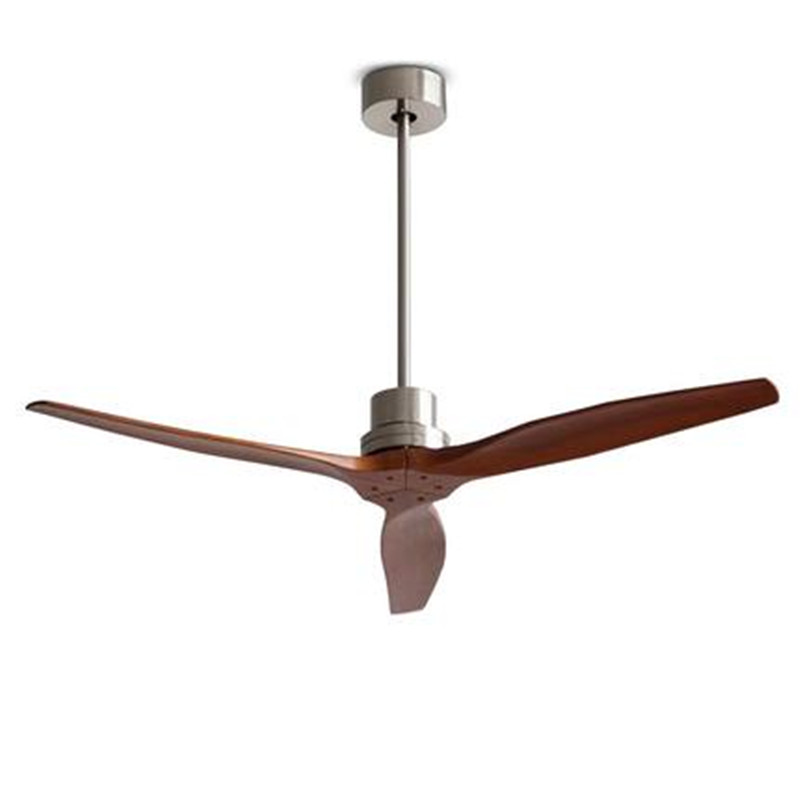Modern Nordic Wood Ceiling Fan With Remote Control Electric oak Blades Ceiling Fan 220V Home Decor Kitchen Restaurant Fan