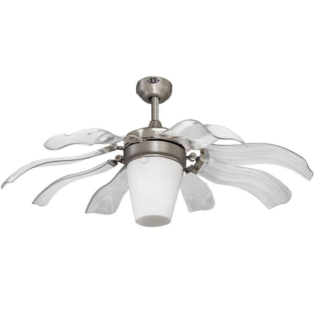 ultra quiet ceiling fan 220V luxury ceiling fan modern fan lamp for living room, innovative ceiling lights with lights