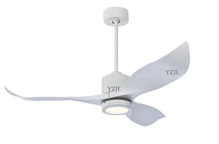 Nordic fan light fan chandeier living room dining room simple American retro lights modern fans chandelier fan light