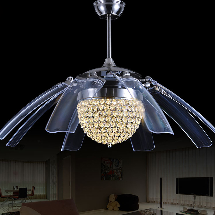 LED Modern Iron Acryl Ceiling Fan LED Lamp.LED Light.Ceiling Lights.LED Ceiling Light.Ceiling Lamp For Foyer Bedroom