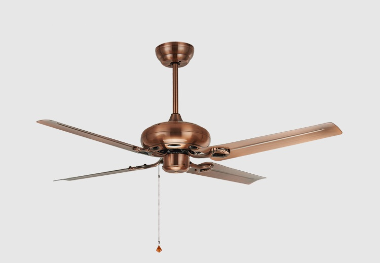 48inch 52 inch iron lamp antique ceiling fan without light living room restaurant-classical European simple fashion fans
