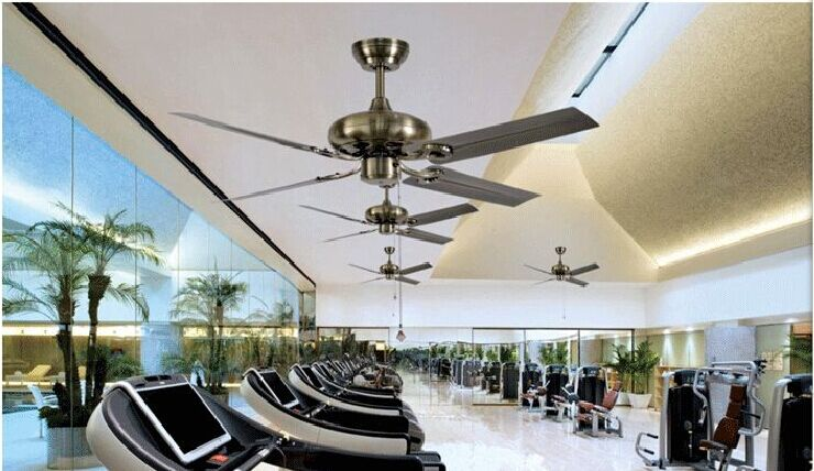 42 inch leaf fan ceiling fan with no light continental antique modern minimalist iron ceiling fans without a lamp