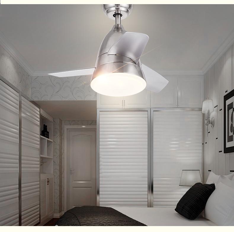 Simple Modern Bedroom Fan Chandelier Lights Dining Room Living Children 39 S
