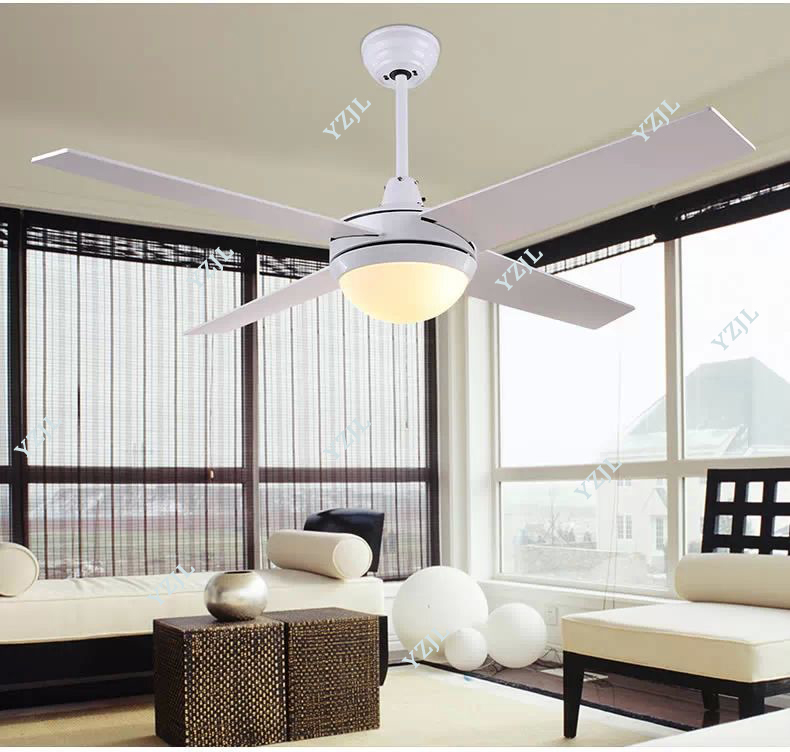 Lights & Lighting Generous Loft Fan Chandelier Retro Dining Room Household Electric Fan Mute Led Remote Leaf Fan Lamp