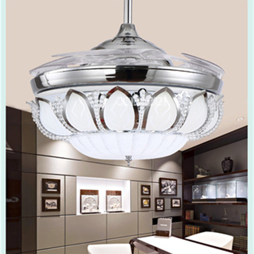 kl-659 Ceiling Fan light Household Modern Simple 42 Inch Variable LED Fan Lamp  Remote Control European 220v