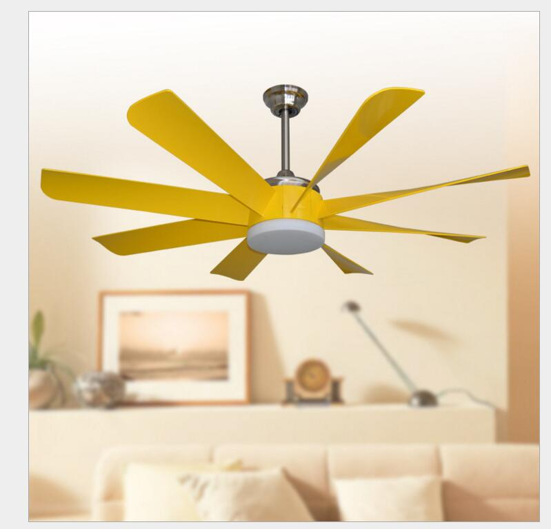 24W LED Ceiling Fan With Lights Remote Control 110-240Volt Fan LED Light Bulbs Bedroom Fan Lamp Free Shipping