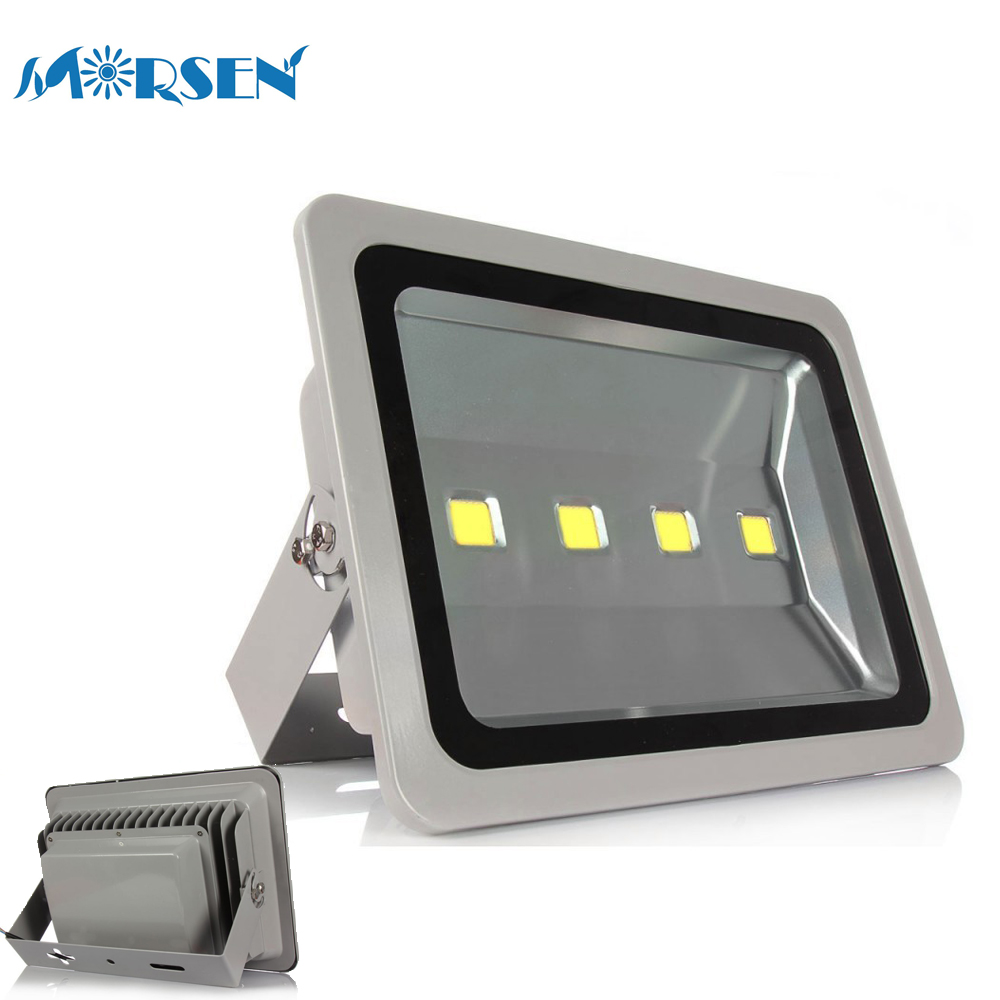 200W LED Flood Light Garden Yard Outdoor Security Spot Lamp Cold White Silver