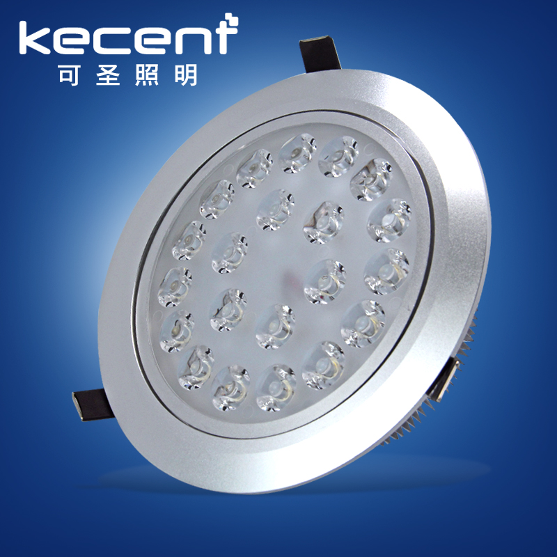 Hot Sale  21W/24W LED Downlight  Warm White Cold White Recessed LED Lamp Spot Light AC85-265V