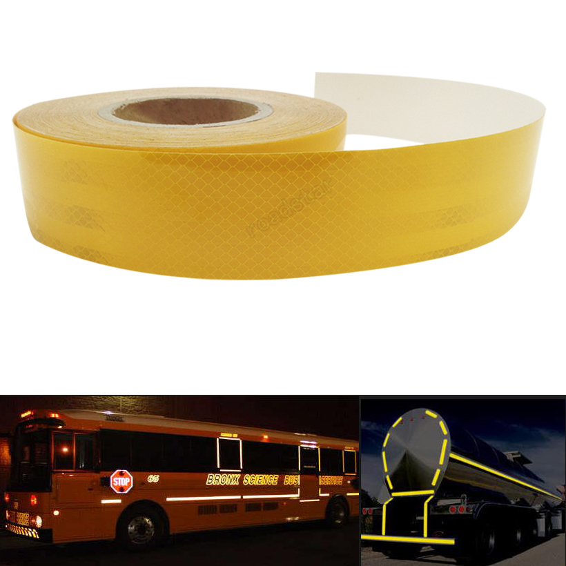 5CMx30M Reflective Tape Vehicle Hazard Warning Caution Safety Conspicuity Tape