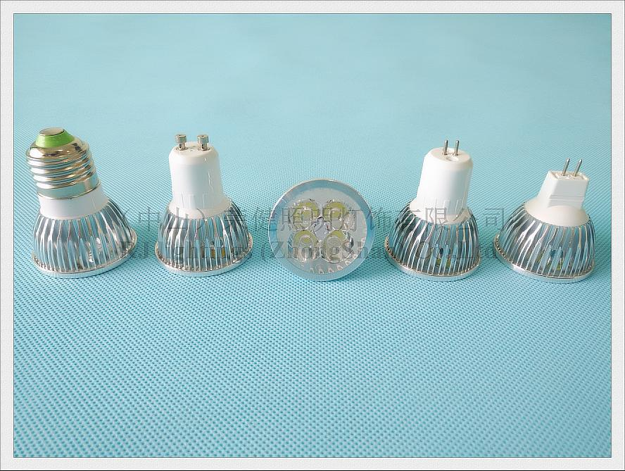 led spot light spotlight 4w e27 gu10 gu5.3 mr16 (1)