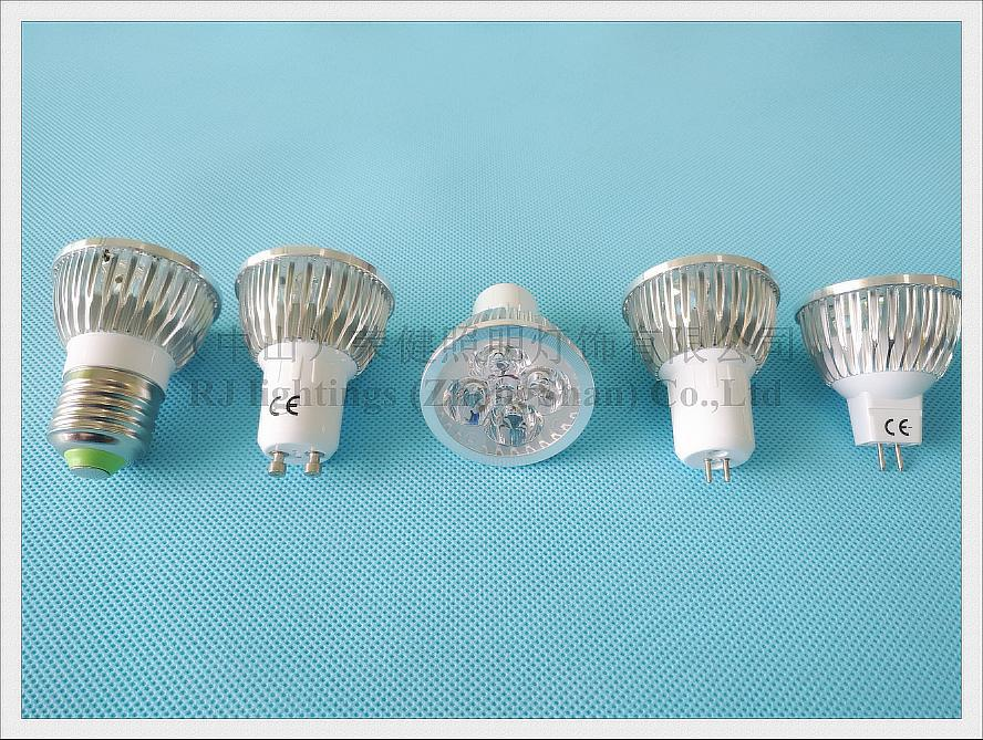 led spot light spotlight 4w e27 gu10 gu5.3 mr16 (3)