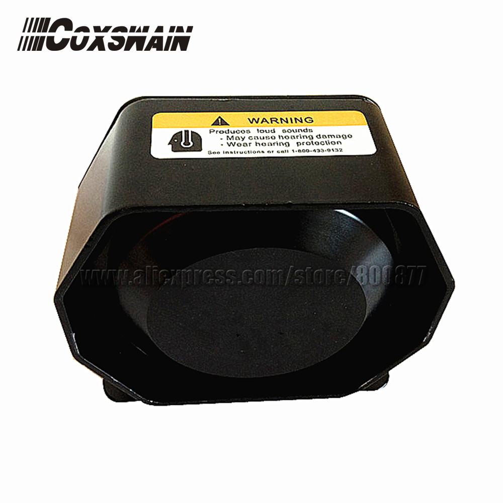 200W extra thin Loud Speaker for car siren, Neodymium material, 120-130dB, 6ohm horn car alarm amplifier, easy install