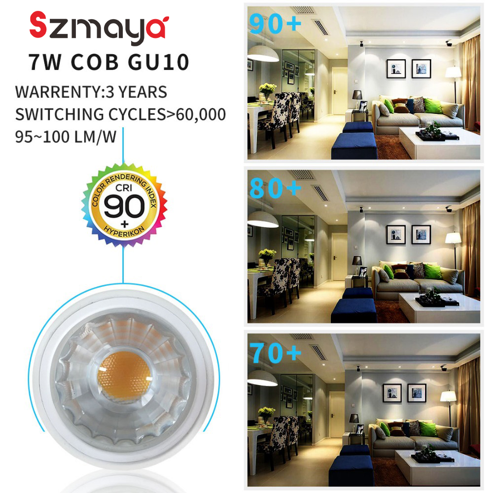 Best price 3 PCS PACK 6 Watt MR16 LED 40 Degree Light Bulbs No Dim ,70W Halogen Bulbs Equivalent, 6W, 630lm, Warm White 3000K