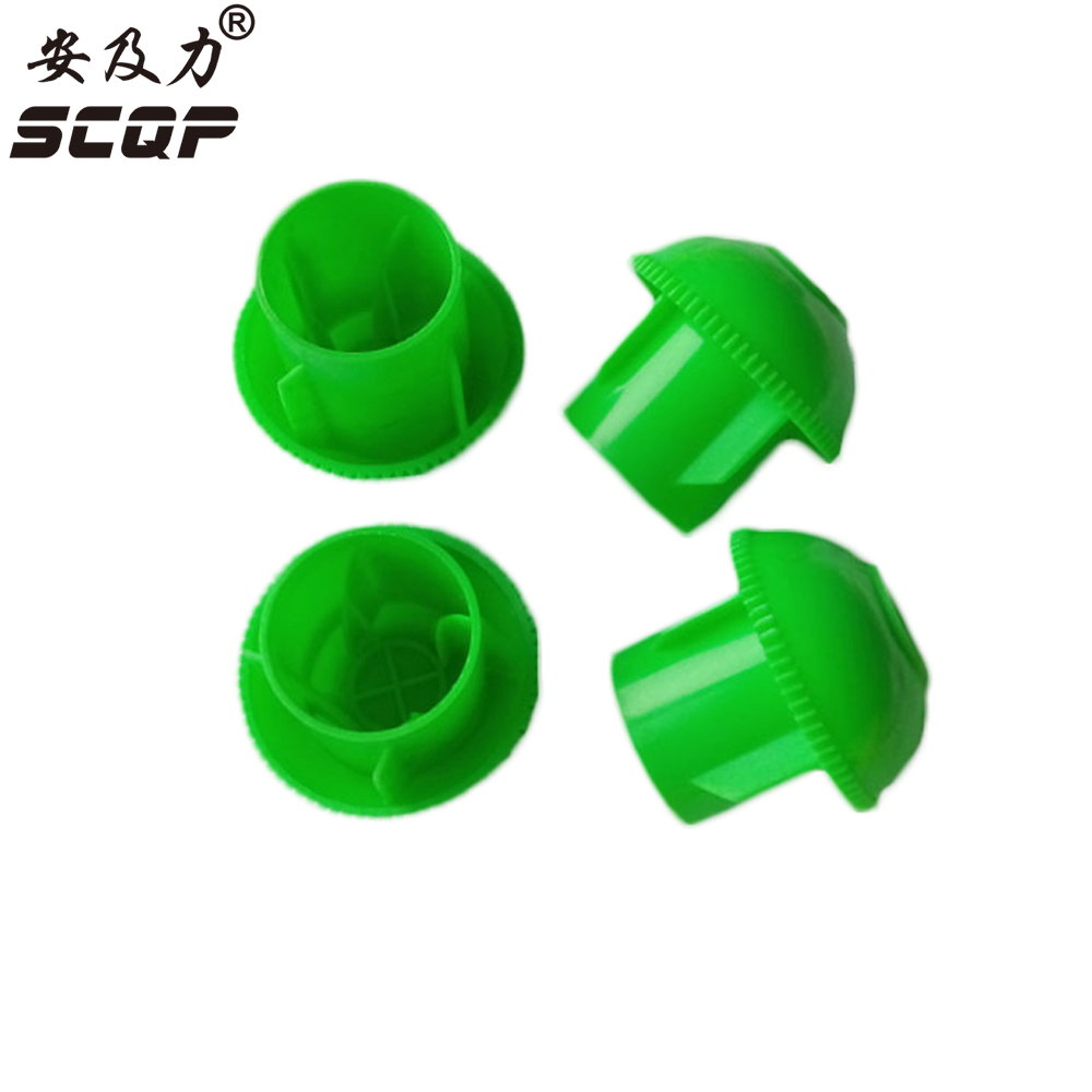 19-25MM Plastic Reinforced Steel Bar Pipe Protection Rebar caps Construction Protective End Cap PVC Cable Wire Cover Rebarcaps