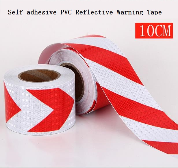 Road Traffic Construction Site Corridor Factory Workshop Floor Safety Warning Self-adhesive Twill Reflective Tape