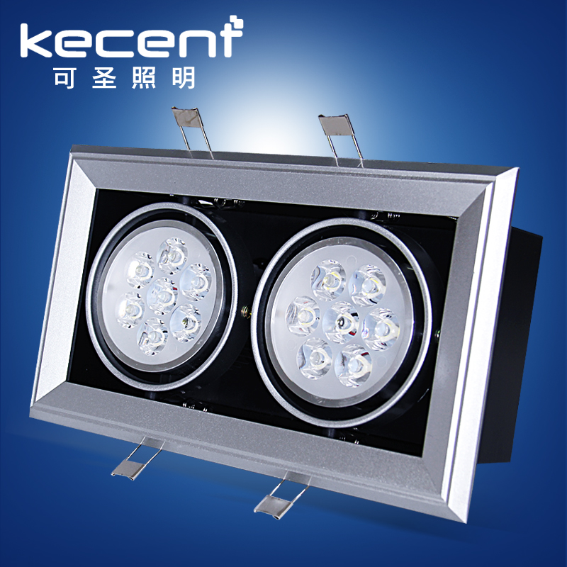 Hot sell double ceiling led recessed downlight,,led recessed 4000k recessed down light lamp with driver White/warm white color