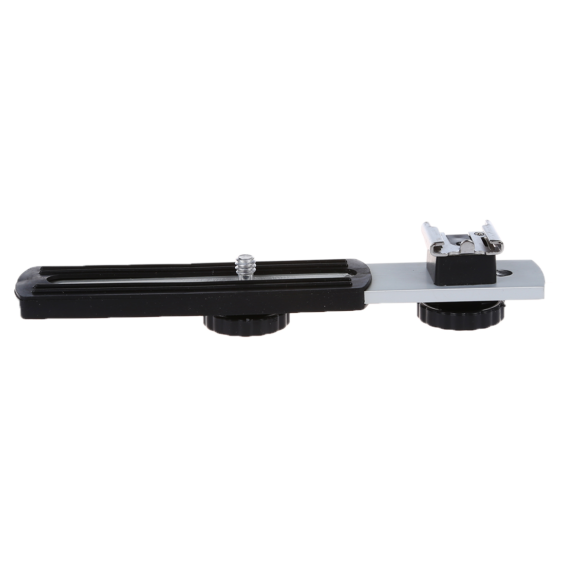 "Universal 1/4"" Sliding Screw Metal Flash Bracket for Digital Camera"
