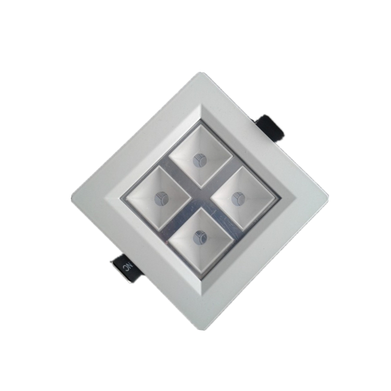 New Arrival Retail Grille lamp 4W led panel lighting ceiling light Downlight AC85-265V kitchen lamp 400LM indoor lighting