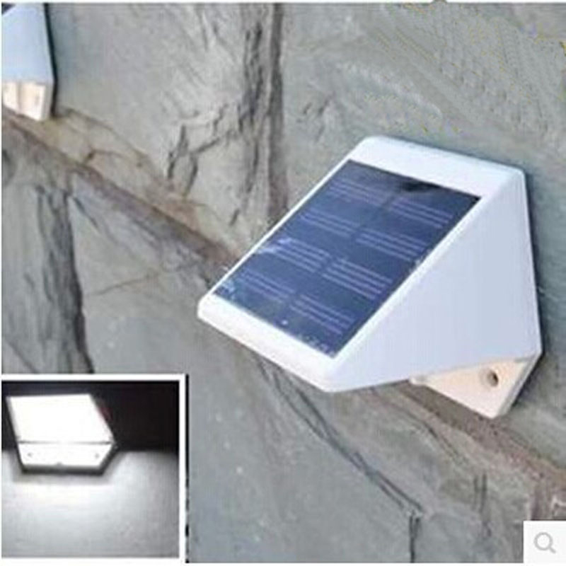 oobest Outdoor Solar Power LED Light Wireless Induction Sensor Waterproof Lamp Home Garden Bright Solar Light