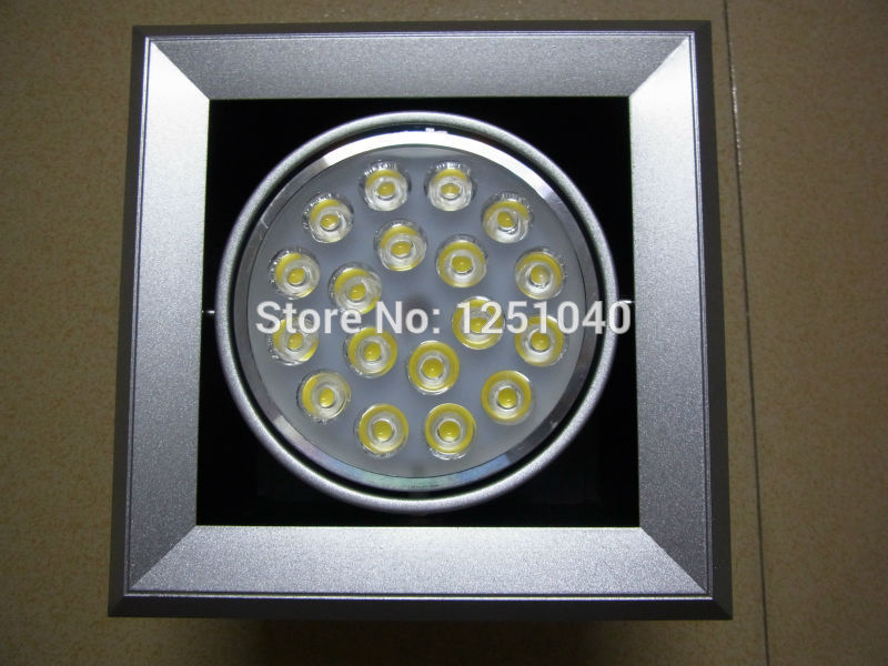 Manufacturer Supply 18W LED Grille Lamp LED Bean Pot Light LED Grid Light LED Bean Container Light CE RoHS FCC 85-265V 110V 220V
