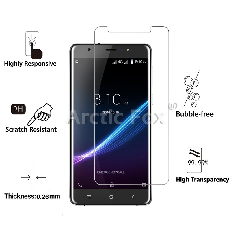 2.5D 0.26mm 9H Premium Tempered Glass For Blackview R6 Screen Protector Toughened protective film For Blackview R6 Glass