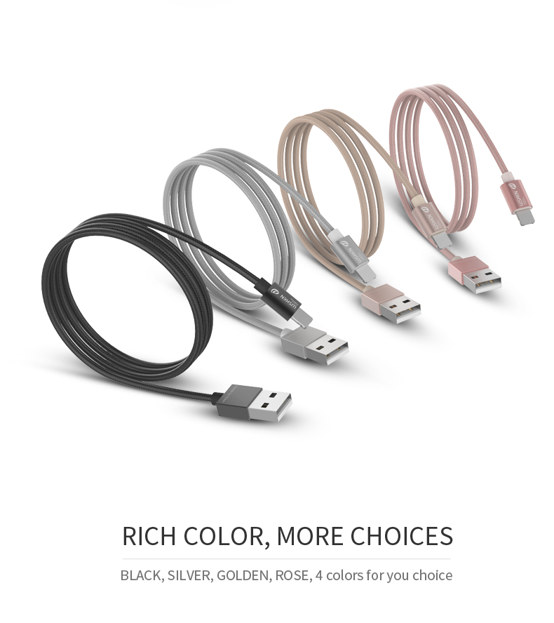 WSKEN Micro USB iphone data cable (11)