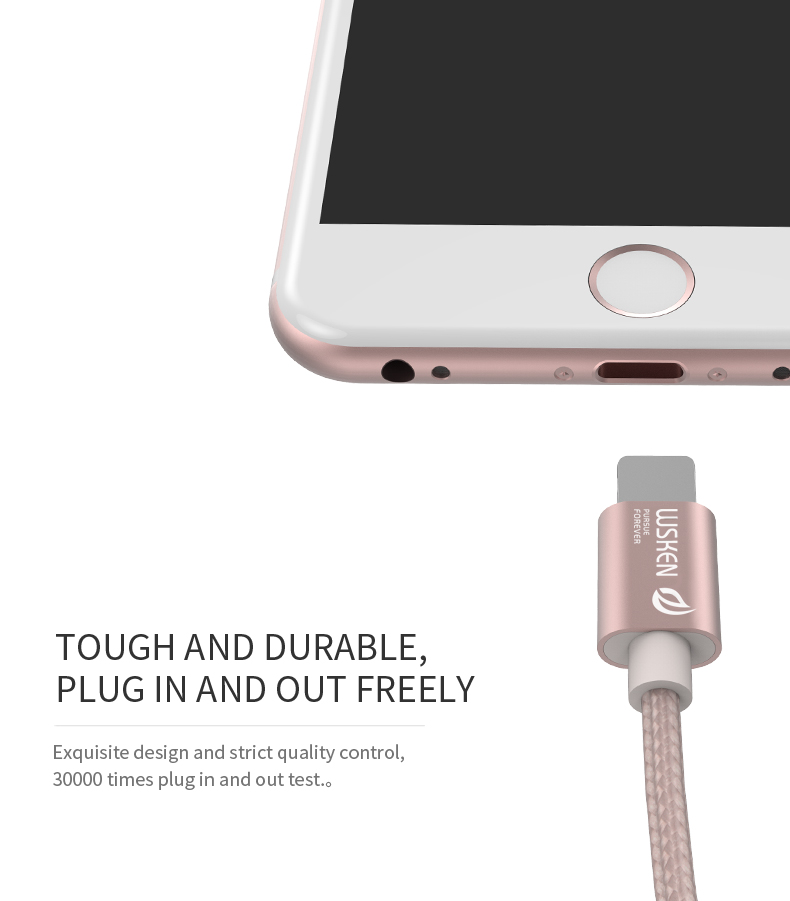 WSKEN Micro USB iphone data cable (7)